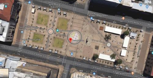 Hoffman Square, Bloemfontein, South Africa, 2018